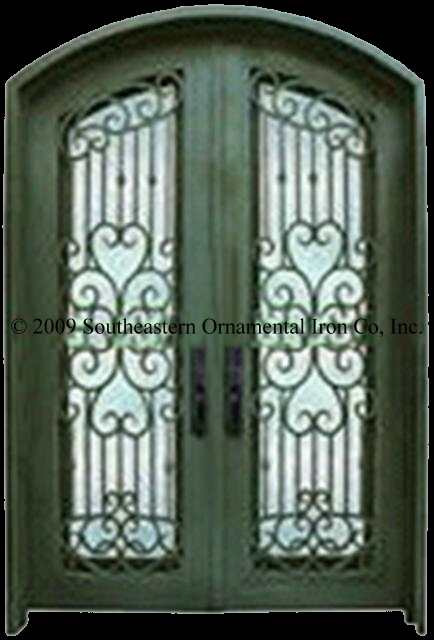 Wrought Iron Entry Doorscustom Iron Doors Security Doors