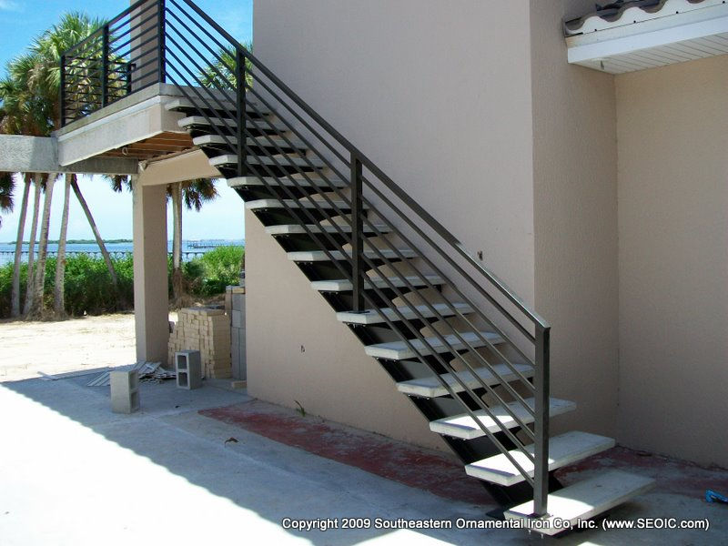 Charming ... Aluminum Stair Railing(#SR 91) ...