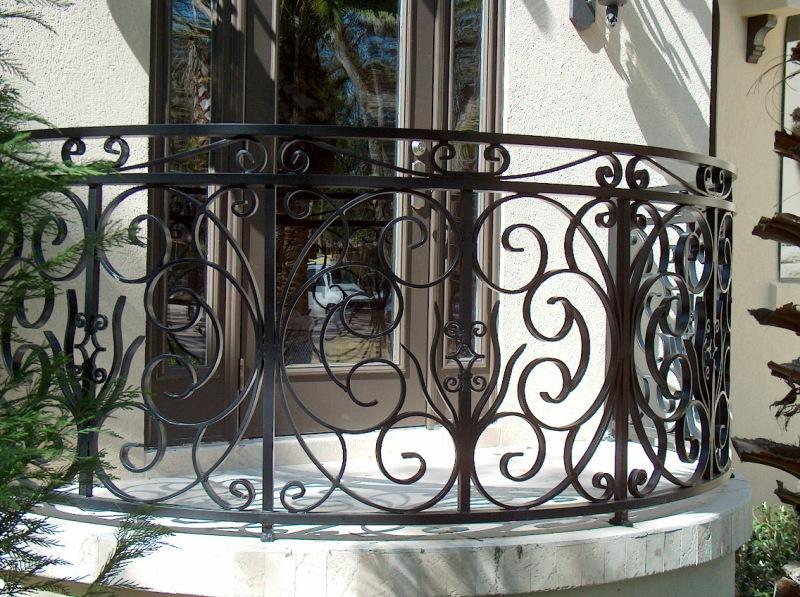 ... Aluminum Deck Railing Symphony Design (#33) ...