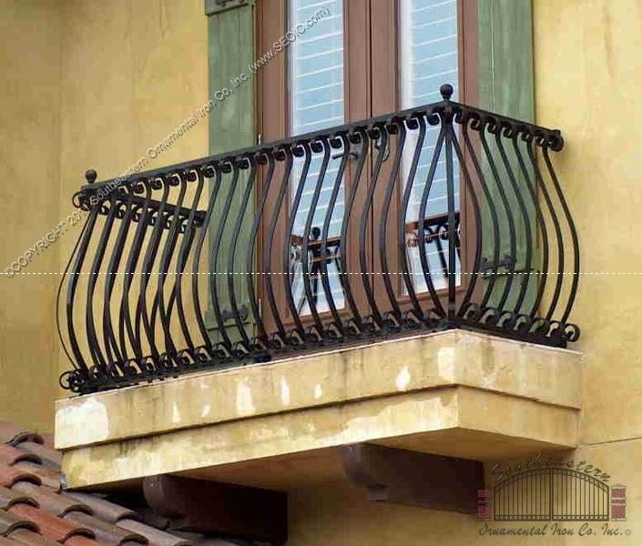 Aluminum           balcony Rail