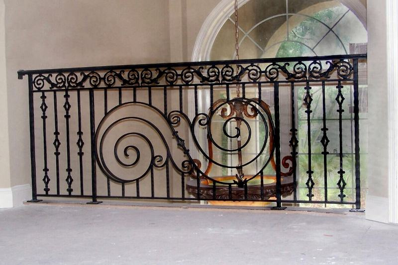 Aluminum balcony railing for Metal balcony