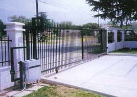 Security Driveway Gate