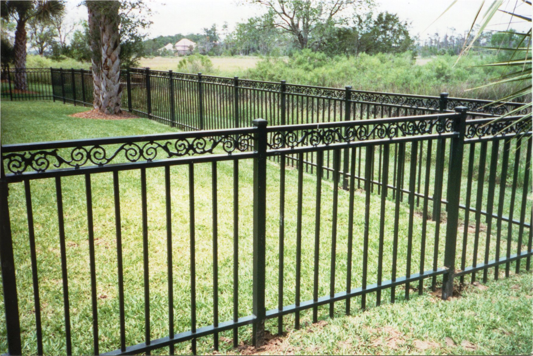 Wrought Iron Gates: Wrought Iron Fencing, Aluminum Fencing, Ornamental Fence