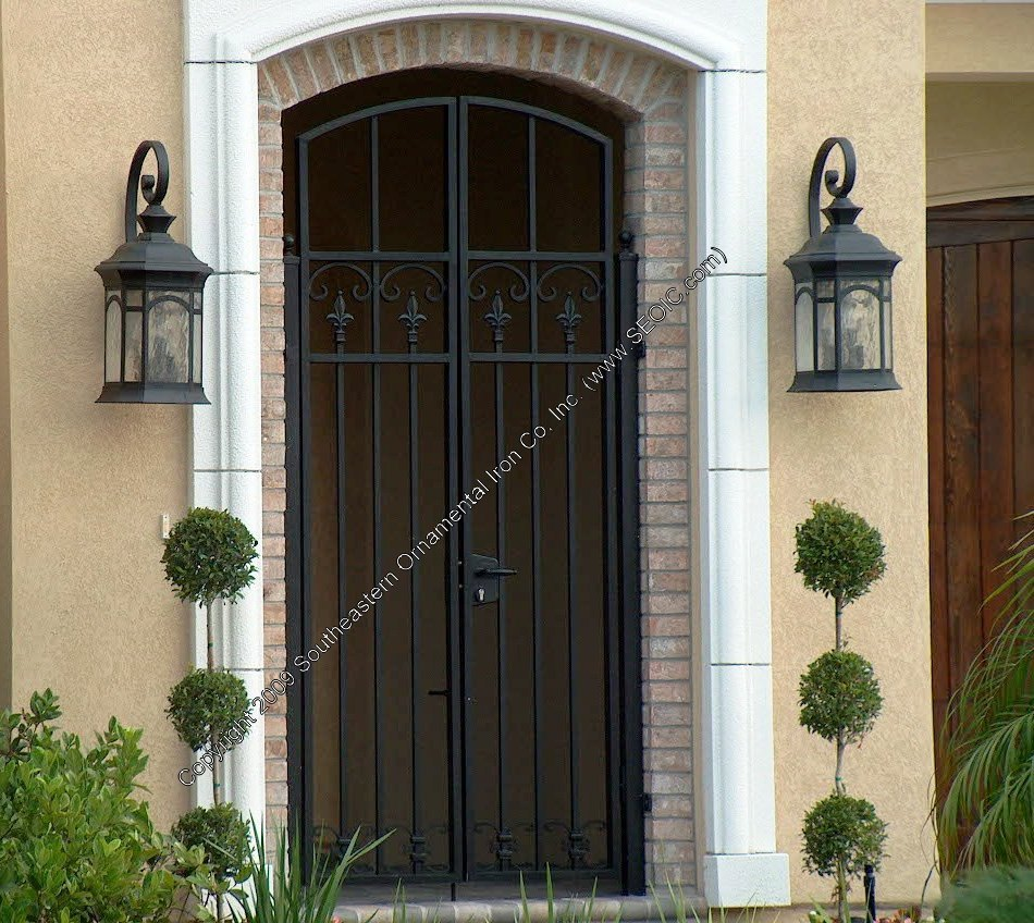 ... Custom House Gate (#WG-18) ... & Walk Gates Garden Gates Courtyard Gates Security Gates