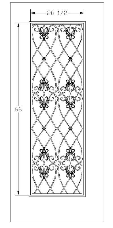 Door Grilles Wine Doors