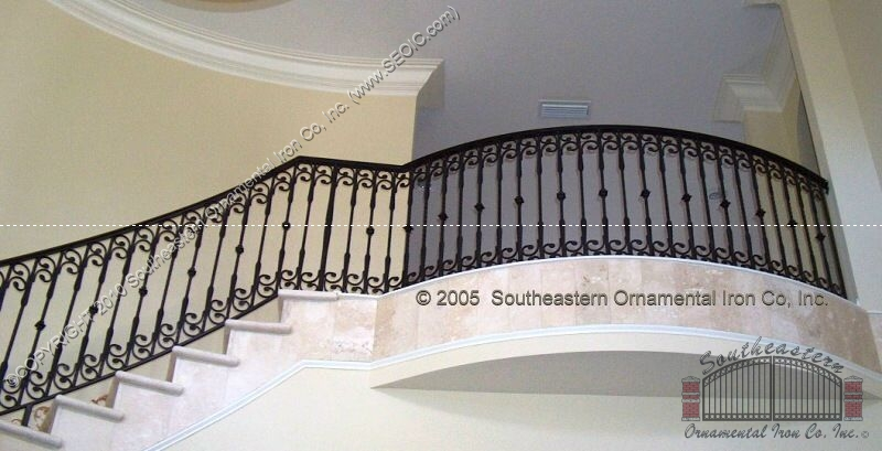 Superieur ... Wrought Iron Stair Railing (#SR 3) ...