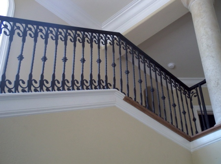 ... Wrought Iron Stair Rail ...