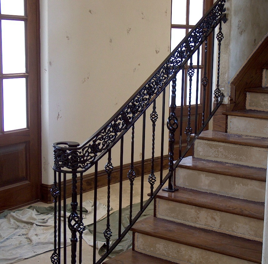 interior wrought iron railings stairs images