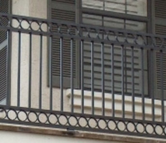 ... Ornamental Railing Aluminum Balcony Railing, False Balcony Rail  Courtyard Gates ...