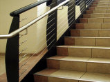 Modern Cable Stair Railing (#CR-4)