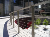 Exterior Cable Deck Railing (#CR-29)