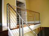 Stainless Steel Cable Stair Railing (#CR-25)