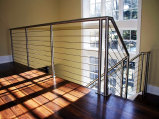 Stainless Steel Cable Stair Railing (#CR-26)