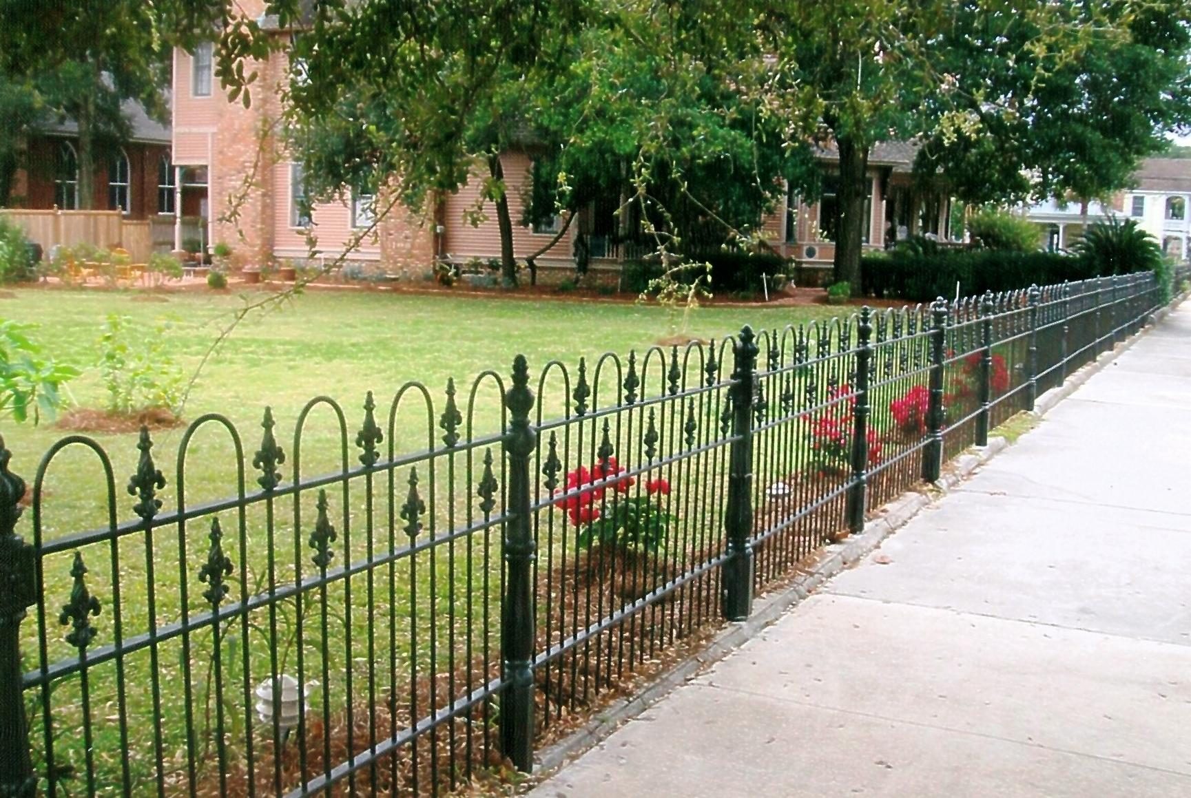 old world fencing by ornamental iron co inc