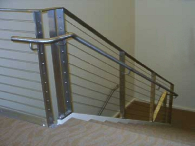 ... Stainless Steel Cable Rail Stair Railing (#SR 64) ...