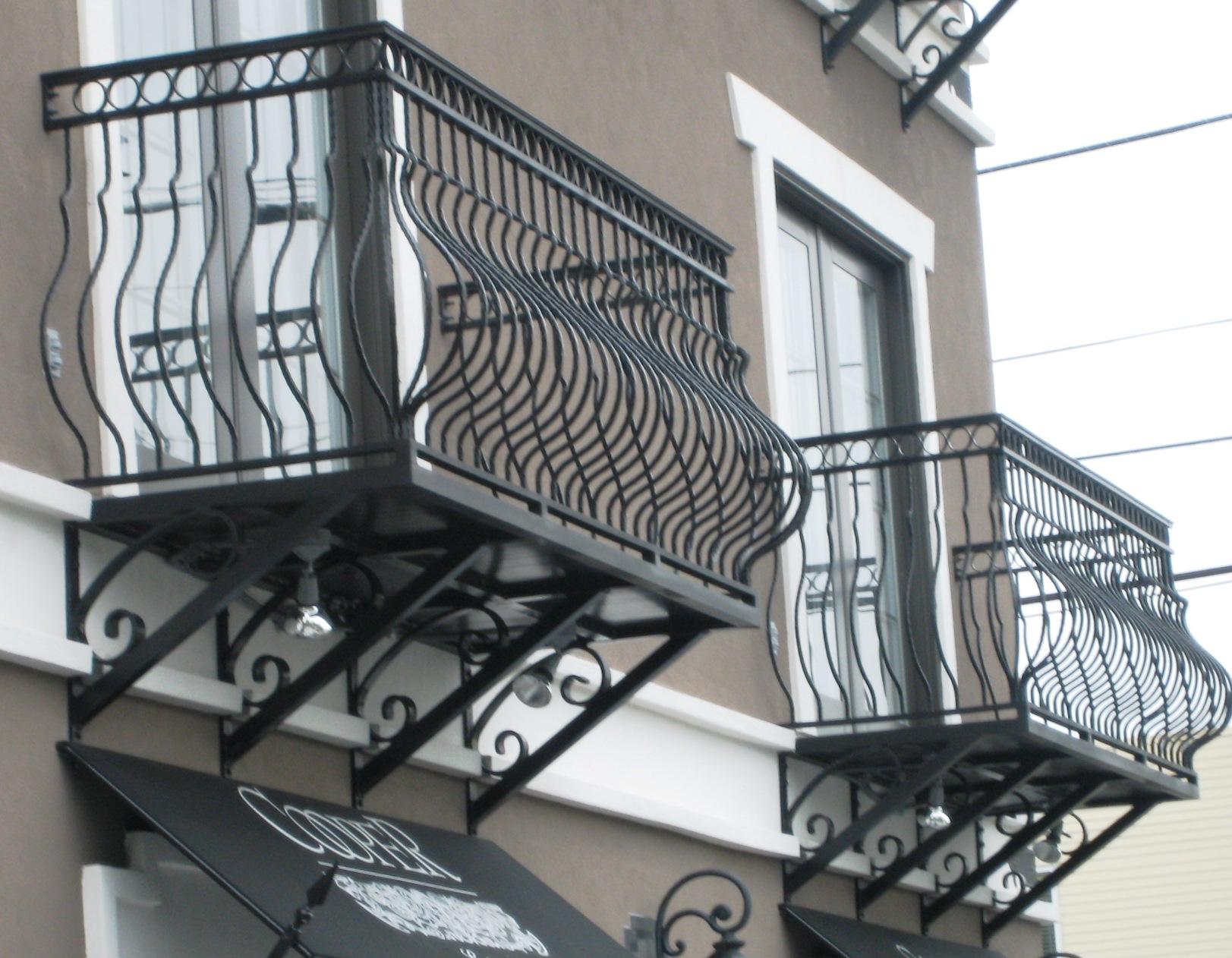 Aluminum balcony railing 2 - Veranda decoratie ...