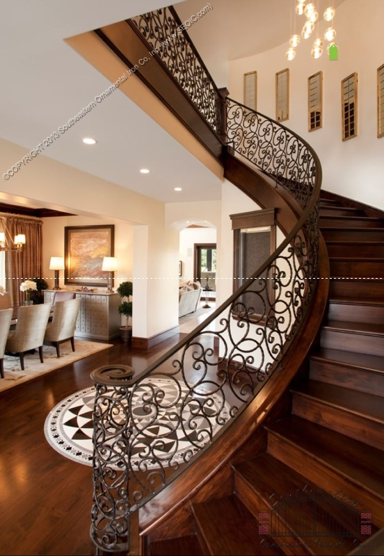 ... Wrought Iron Stair Rail(SR 113) ...