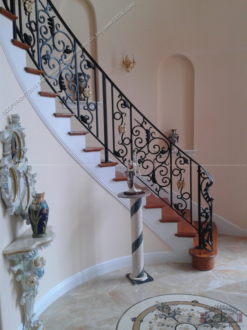 Pin Wrought Iron Stair Balustrade On Pinterest