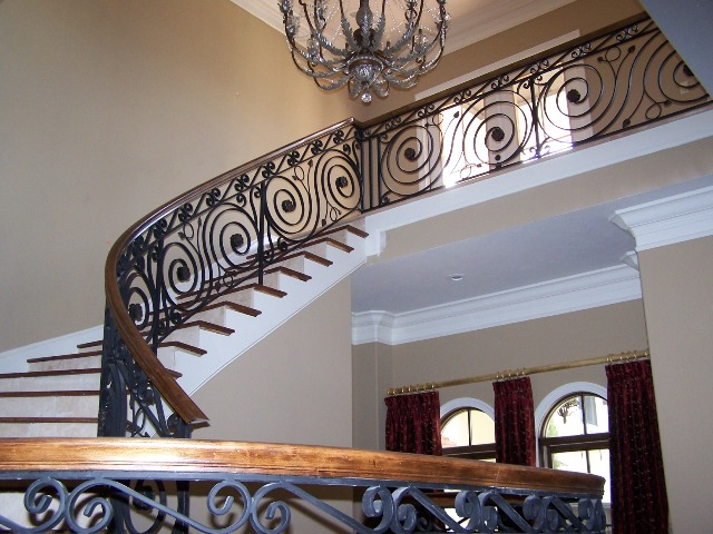 Wrought iron stair railing 1 in addition Id F 557503 likewise Wrought iron stair railing 1 likewise 3522 Rustic Bronze Wrought Iron Light Chandelier additionally Id F 743569. on french art deco wrought iron
